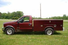 2004 Ford F-350 Diesel Utility Truck