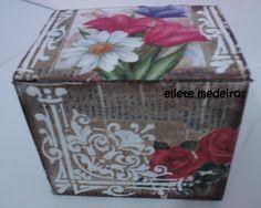 Reciclagem - caixinha de papelão