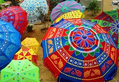 Umbrellas from India