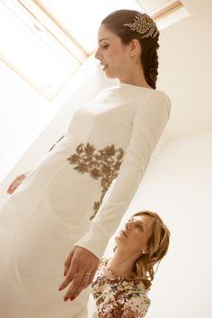 Vestido de Ángeles Serrano