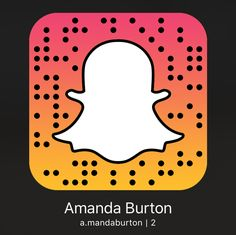 Amanda Burton blog snap chat