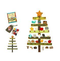 Deluxe Felt Heirloom Children's Jesse Tree Advent Ornament and Tree Set Advent Ornaments Jesus Bible Devotional Christmas Countdown