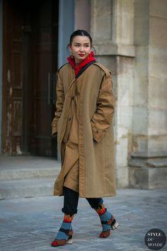 Paris Men's Fashion Week Fall 2017 Street Style: Sherry Shen