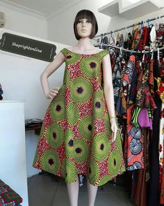 Items similar to Ankara dress short dress for women's / kinte short dress / Africa print wax dress / causal dress party dress / summer dress on Etsy African Dresses For Kids, African Maxi Dresses, Latest African Fashion Dresses, African Print Fashion, African Attire, Ankara Fashion, Africa Fashion, African Prints, African Fabric