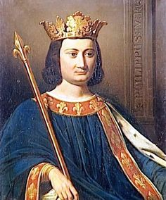 Philip IV the Fair, the Iron King (Philippe IV le Bel)5 October 128529 November 1314 • Son of Philip IIIKing of France and of Navarre (Roi de France et de Navarre)