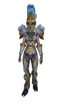 Reinforced Sapphirium Battlearmor (Lookalike) - Set de Transmogrification - World of Warcraft