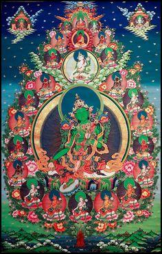 Tibetan Symbols, Buddhist Symbols, Tibetan Art, Buddha Buddhism, Buddha Art, Tibetan Buddhism, Tara Verte, Tarot, Vajrayana Buddhism