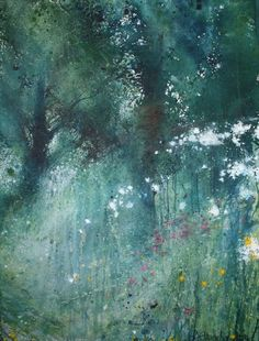 Stewart Edmondson at Dart Gallery, Dartmouth, Devon and Online Watercolor Trees, Easy Watercolor, Watercolor Landscape, Abstract Watercolor, Abstract Landscape, Landscape Paintings, Watercolor Paintings, Watercolours, Encaustic Painting
