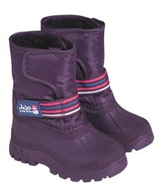Another great find on #zulily! Purple Alpine Snow Boot by JoJo Maman Bébé #zulilyfinds