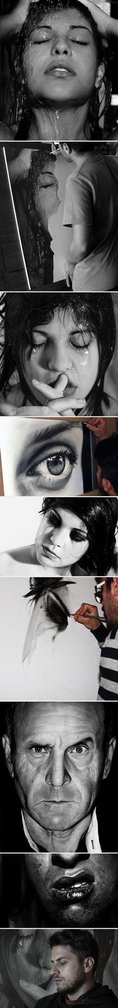 Pencil art by artist Diego Fazio - 9GAG