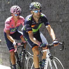 Alejandro Valverde Andrey Amador Giro Giro d'Italia 2016 stage 14 @bettiniphoto