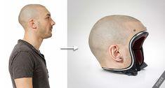 Des casques de moto personnalisés à l'effigie de votre tête