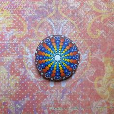 Mandala Stone (Junior) by KimberlyVallee on Etsy https://www.etsy.com/listing/242566783/mandala-stone-junior