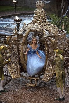 Lily James dazzles as 'Cinderella' in new images. See Lily James, Cate Blanchett and more in 'Cinderella' images Disney Live, Disney Magic, Disney Travel, Disney Cruise, Disney Parks, Cinderella 2015, Cinderella Coach, Cinderella Carriage, Cinderella Live Action