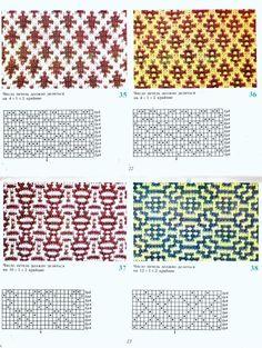 Diy Crafts - View album on Yandex. Intarsia Patterns, Fair Isle Knitting Patterns, Knitting Charts, Lace Patterns, Mosaic Patterns, Knitting Designs, Knitting Stitches, Cross Stitch Patterns, Groomsmen