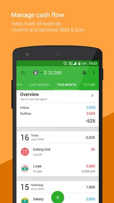 Money Lover Money Manager v3.5.122 [Premium] Proper 	Requirements: 4.1+ 	Overview: Money Lover is a great yet simple manager for tracking your personal finance, i.e. your income, cash, spending, expenses, all conveniently from your mobile device.   	    	  	Don't ever let your money stress you...