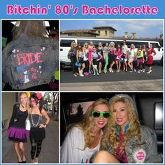 80s bachelorette party theme {Wedding Wednesday} Themed Bachelorette Party Ideas