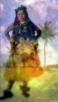 Artwork >> Kenneth Grzesik >> Aluna Ahiahi Hula