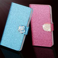 Hot Diamond Flash Capa Cover For Samsung Galaxy S4 Active i9295 i537 Case Flip PU Leather Book Protector Coque Fundas