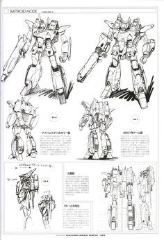 河森正治 Shōji Kawamori マクロス Macross VF-X-7 VF-X-11... - Rocketumblr