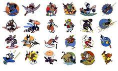 Disney World War II Mascots  -superpunch.net