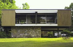 Wolfson House, 1949 – 195, Salt Point, New York - Marcel Lajos Breuer #Historia #Arte #Design @Qomomolo