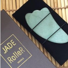"""Literally, gua sha means to scrape and get """"sha"""". A Gua Sha tool is used to create friction to intentionally cause red dots to appear on the surface of the skin. Gua Sha Tools, Jade, Skin Care, Ph, Beauty, Packaging, Skincare Routine, Skins Uk, Skincare"""