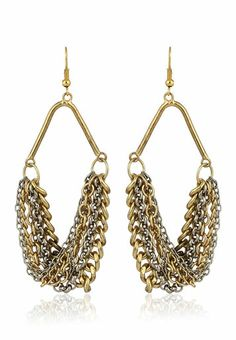 Chain Earrings / Blueberry / Rs.399  (I wonder how this will look)