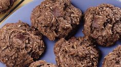 Looking for a distinctive dessert? Then check out these brownie-macaroon cookies that bring together chocolate and coconut in one decadent treat.