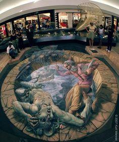 The Inventor and Master of 3D Sidewalk Chalk Art – Kurt Wenner     «TwistedSifter