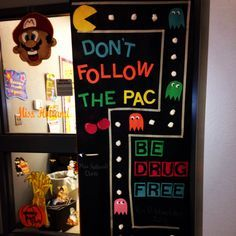 drug free week door decorating ideas google search - Free Decoration Ideas