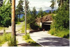 Spiralen, Drammen, Norway  (tunnel highway up the inside of the mountain)