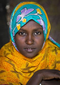 Afar Tribe Woman, Assaita, Afar Regional State, Ethiopia | Flickr - Photo Sharing!