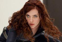 Scarlett Johansson as 'Black Widow'