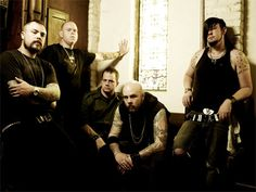 Demon Hunter...one of my fav christian metal bands...