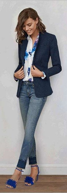 Cute Blazer Outfits Ideas For Women 32