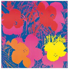 WARHOL - Flowers, 1970 (91x92 cm / 30x30 cm) #artprints #interior #design #art #prints #Warhol Scopri Descrizione e Prezzo http://www.artopweb.com/autori/andy-warhol/EC18130