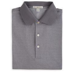 Peter Millar   Hazel Jacquard Cotton Polo