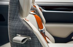 Volvo Concept Estate Interior - Seat detail