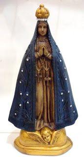 Ateliê Le Mimo: RELIGIOSO Nossa Senhora 40 cm de altura