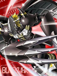 BlackWarGreymon Digimon Collectors card