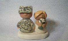 Ginger Babies custom wedding cake toppers - Chubz