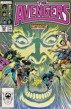 The Avengers #285 - Twilight of the Gods! (Issue)