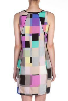 Country Road Geometric Print Dress