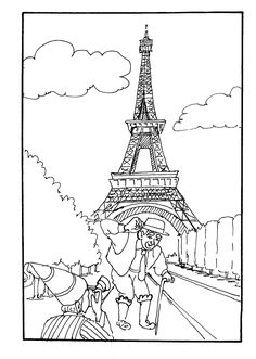 French Coloring Books for Adults Luxury Coloring Pages France Coloring Home Flag Coloring Pages, Coloring Sheets For Kids, Printable Coloring Pages, Adult Coloring Pages, Coloring Books, Colouring, Free Coloring Pictures, Eiffel Tower Drawing, Eiffel Tower Pictures