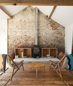 a-frame wood stove - Google Search
