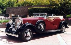 Rolls Royce Phantom II phaeton