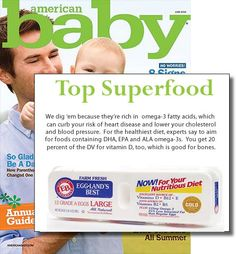 Top Superfood - American Baby Magazine 2010 #egglandsbest