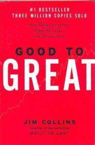 Good to Great: Why Some Companies Make the Leap... and Others Don't by Jim Collins, http://www.amazon.com/dp/0066620996/ref=cm_sw_r_pi_dp_UT2vqb1CW6GRW