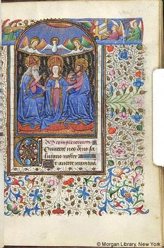 Book of Hours, M.287 fol. 81r - Images from Medieval and Renaissance Manuscripts - The Morgan Library & Museum